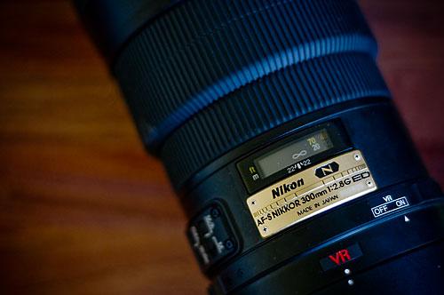 Mitt AF-S VR Nikkor 300mm f/2.8G IF-ED