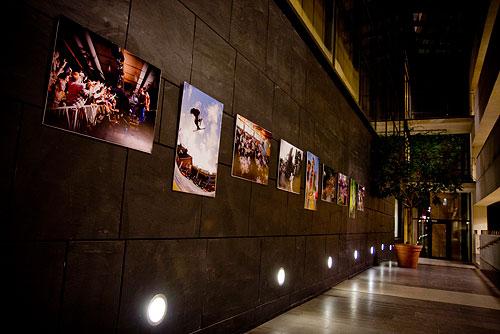 CFFCs utställning i kårhuset, HT 2008